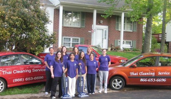 Baltimore aid cleaning service