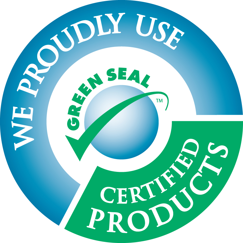 Green cleaning seal