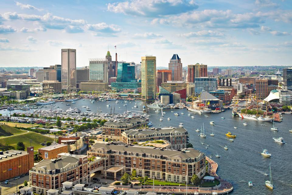 Inner Harbor Baltimore